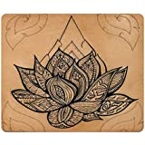 Fractal Design Rectangle Mouse Pad Lotus