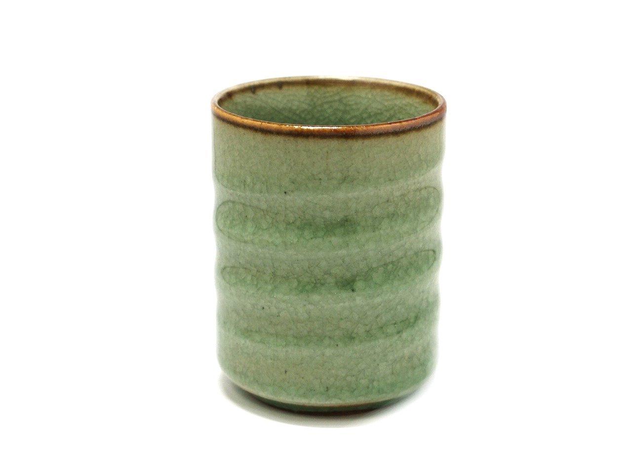 KANNYU 6cm Tea Cup Jiki Japanese Original Porcelain watou.asia