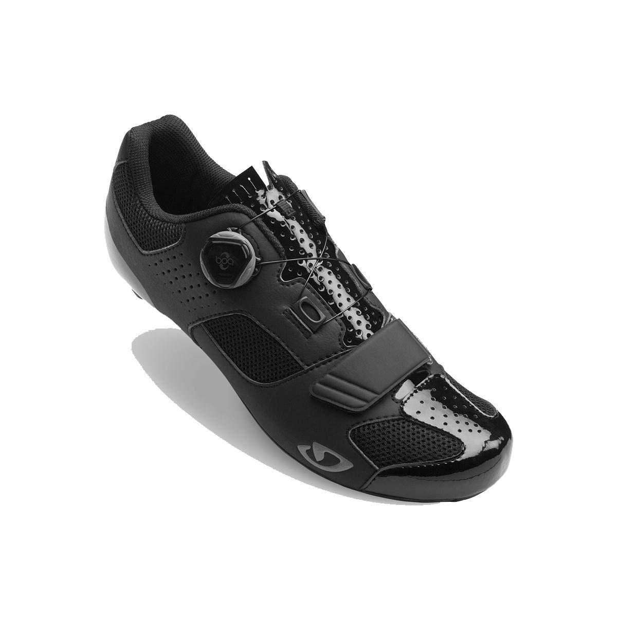 Giro TRANS Boa HV +サイクリング靴 – Men 's B075RNM649 45.5 M EU|ブラック ブラック 45.5 M EU
