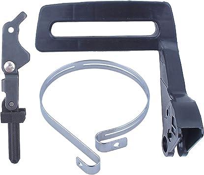 Knee Joint Chain Brake Lever /& Spring For Husqvarna 141 136 137 Chainsaw