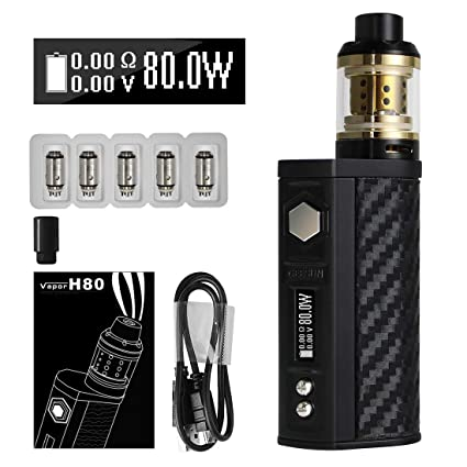 VOVCIG Cigarrillo Electronico Starter Set H80 E-Cig Vapor E Cig Mod Kit 80W Box