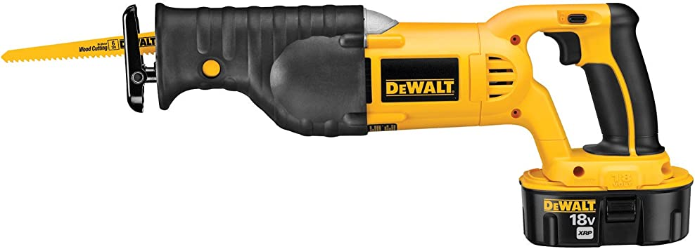 Dewalt Dc385k 18 Volt Ni Cad Cordless Reciprocating Saw Kit Power Reciprocating Saws Amazon Com