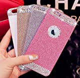 Vproof iPhone 6 Case/iPhone 6s Case , Luxury Hybrid PC Hard Shiny Bling Glitter Sparkle With Crystal Rhinestone [Artificial Diamond] Cover Case For iPhone 6/6s [4.7 Inch] (Pink+Crystal Rhinestone)