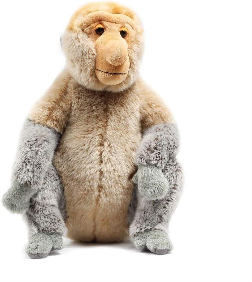 Gtrjin Malaysia Tourism Year Plush Doll, Proboscis Monkey Mascot Plush Toy, Doll Big Cartoon Doll