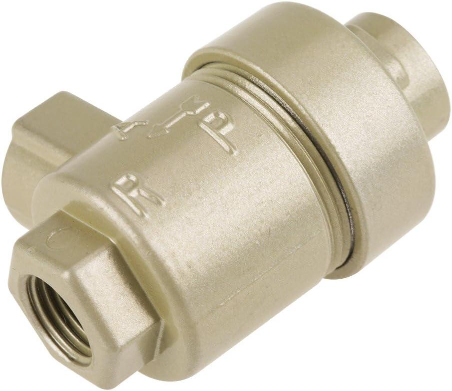 Auslassventil Samfox 1//4BSPT-Luftschnellauslassventil mit Gewinde Pneumatisches Einweg-Aluminium-Luftrohrventil-Ersatzzubeh/ör