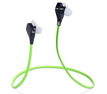 Luxebell Auriculares Bluetooth 4,0 Estéreo Inalámbricos con micrófono para deporte (Verde): Amazon.es: Electrónica