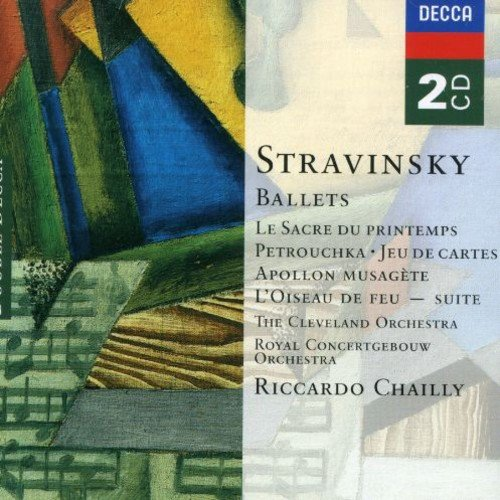 - Stravinsky: Ballets - Le Sacre du Printemps (The Rite of Spring); Petrushka; Jeu de Cartes; Apollon Musagete; L'Oiseau de Feu Suite (The Firebird Suite)