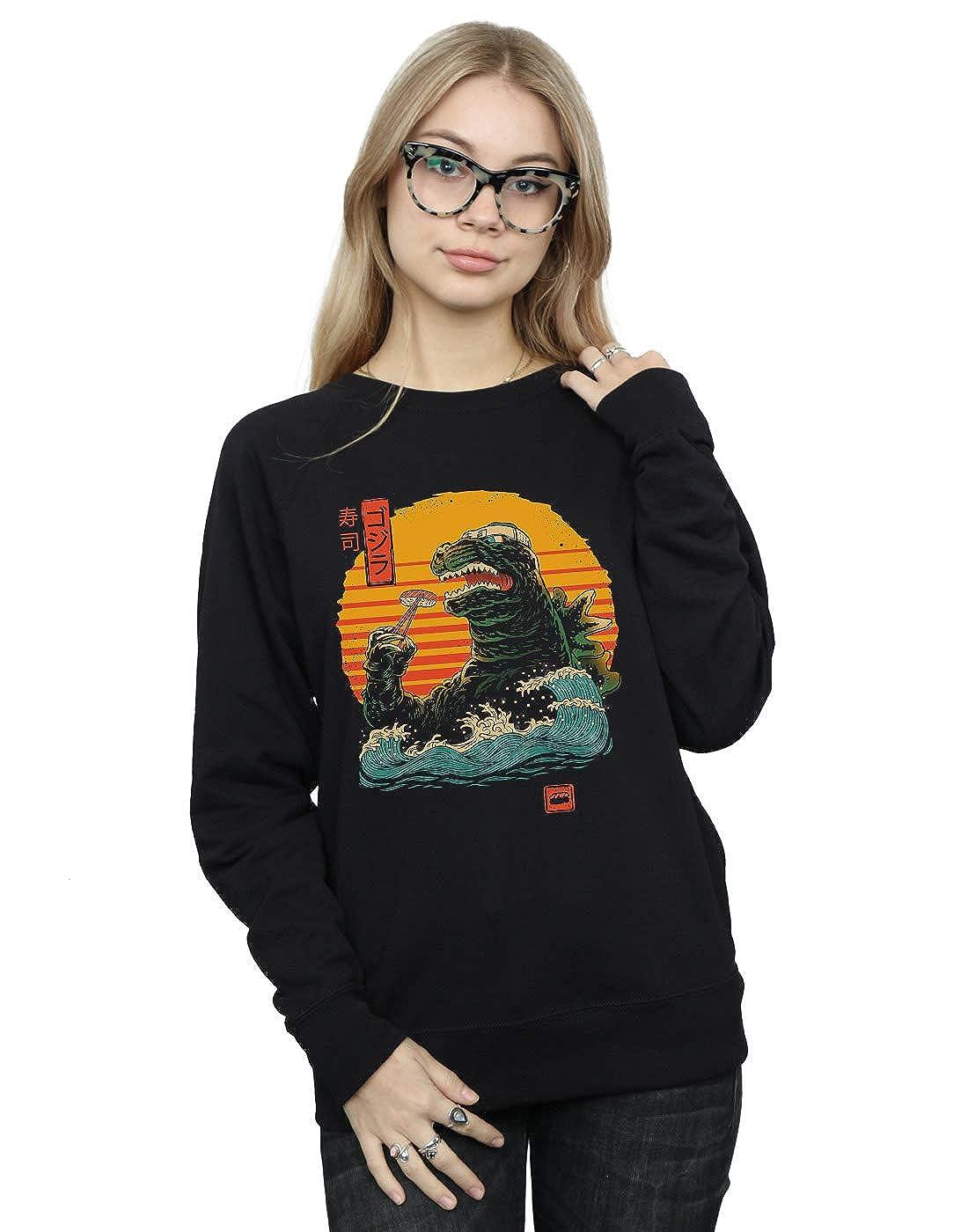 Vincent Trinidad Womens King of Sushi Sweatshirt