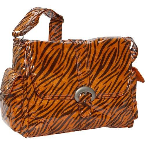 Kalencom Tiger Print Three Piece Diaper Bag Set