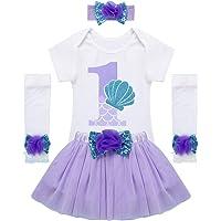 iiniim 3 Piezas Counjunto de Ropa Bebé Niña