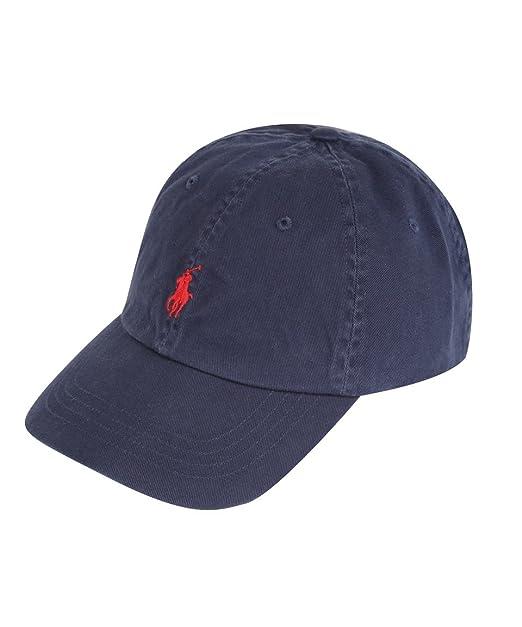 Ralph Lauren - Gorra de béisbol - para Hombre Azul Azul Marino Talla única: Amazon.es: Ropa y accesorios