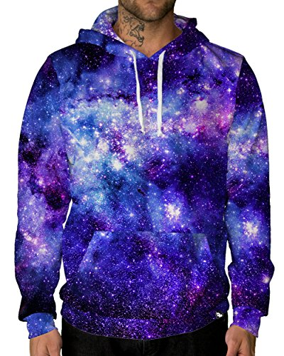 INTO THE AM Stardust Space Galaxy Premium All Over Print Hoodie (Medium)