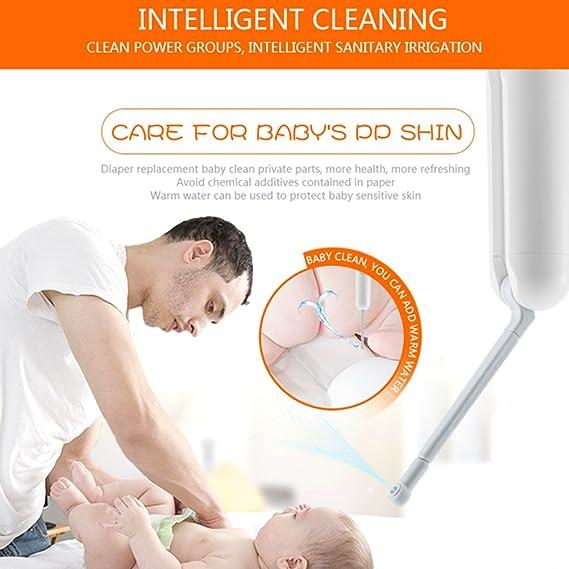 Bidé portátil, popular, resistente al viento, eléctrica, portátil, para baño, ducha/oración, para bebés, embarazadas, mujeres de posparto, ancianos, ...
