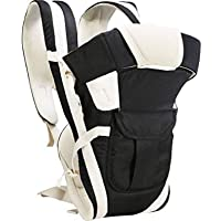 HOLME'S 4 In1 Adjustable Baby Carrier Bag/Baby Carrier/Baby Shoulder Carrier/Baby Strap Carrier/Child Safety Belt/Infant Carrier Bag/Baby Holder/Baby Catching Bag (Black)
