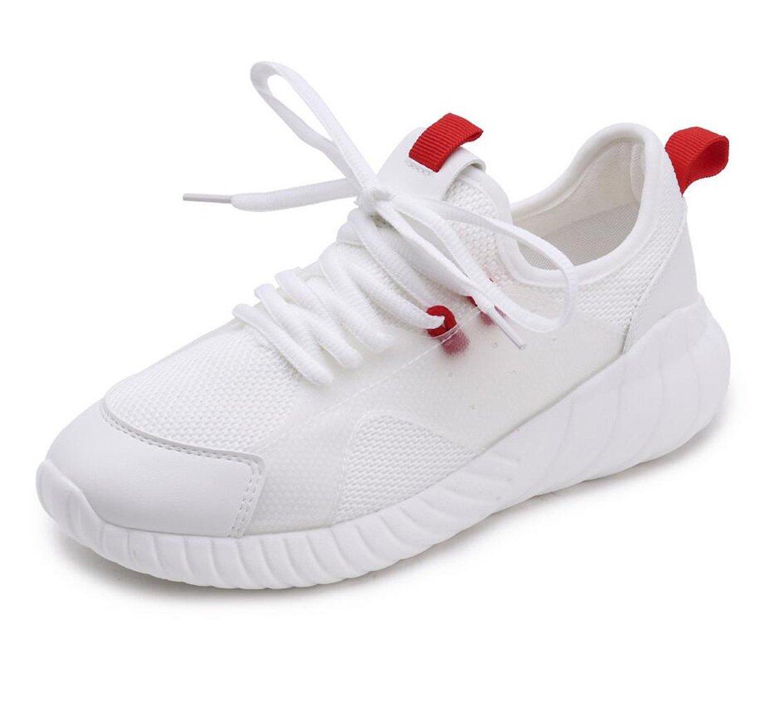 DANDANJIE Laufende Schuhe der Frauen Mesh Breathable Laufende Schuhe beiläufige Leichte Studenten-Sport-Schuhe Frühling und Sommer