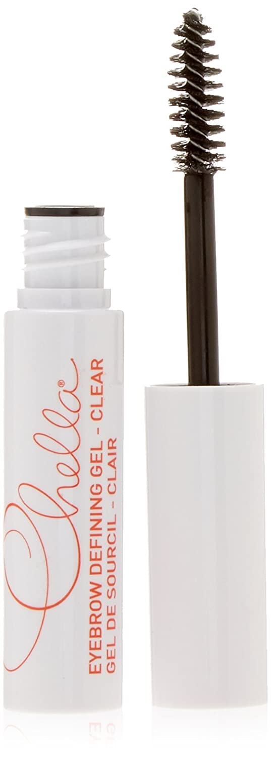 Chella Eyebrow Defining Clear Gel to Lift and Hold the Eyebrow Hairs and Groom Them Into Place - Clear (4mL / 0.14 oz. )