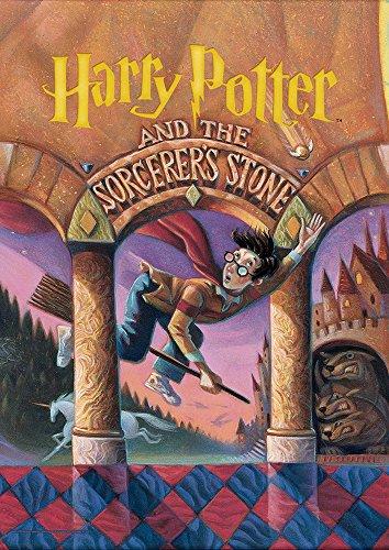 MightyPrint Harry Potter (Book Cover - Sorcerers Stone) Wall Art Next Generation Premium Print (Harry Potter Book Art)