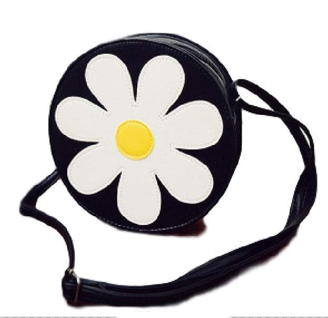 Women Sweet Lovely Daisy Flower Shaped Clutch