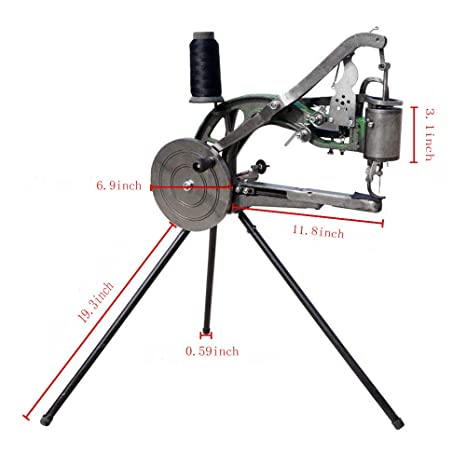 Amazon FISTERS Hand Machine Cobbler Shoe Repair Machine Dual Mesmerizing Cobbler Sewing Machine