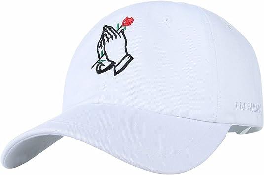 Llxln Rose Mano Bordado Gorra De Béisbol De Algodón Sombreros ...