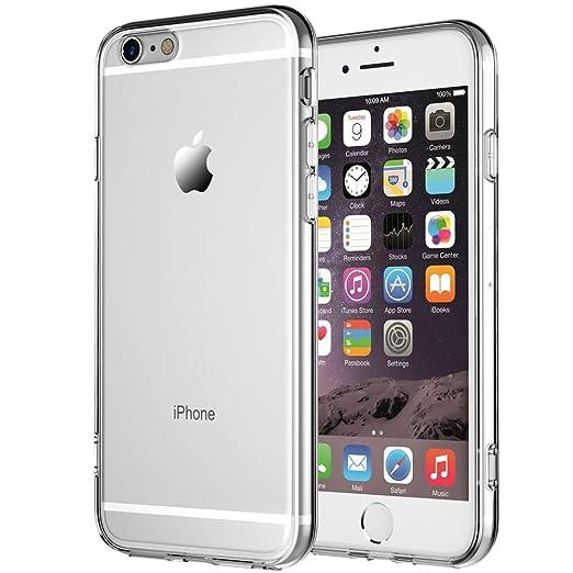 26 opinioni per Cover iPhone 6,Cover iPhone 6s,NNIUK iPhone 6 Caso trasparente TPU gomma della