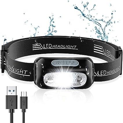 Ultra Hell LED Kopflampe Lampe Kopfleuchte Stirnlampe Headlamp