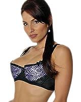Amazon.com: Empire Intimates Open Tip Bra Lace Full Figure Push-up ...
