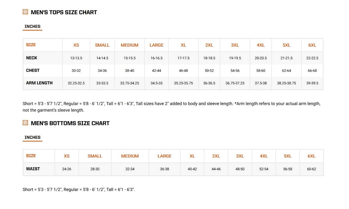 5.11 Men's APEX EDC Stealth Cargo Pocket Tactical Pant Style 74434, Khaki, 28W x 30L