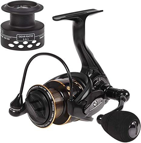 Spinning Fishing Reel 13BB + 1 rodamiento de Bolas Metal Spinning ...