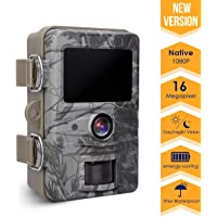 AGM Trail 16MP 1080p IP66 Waterproof Wildlife Game Camera with 120Wide Angle for Outdoor Recording