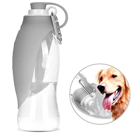 Amazon.com: Vitalumos - Botella de agua para perro, botella ...