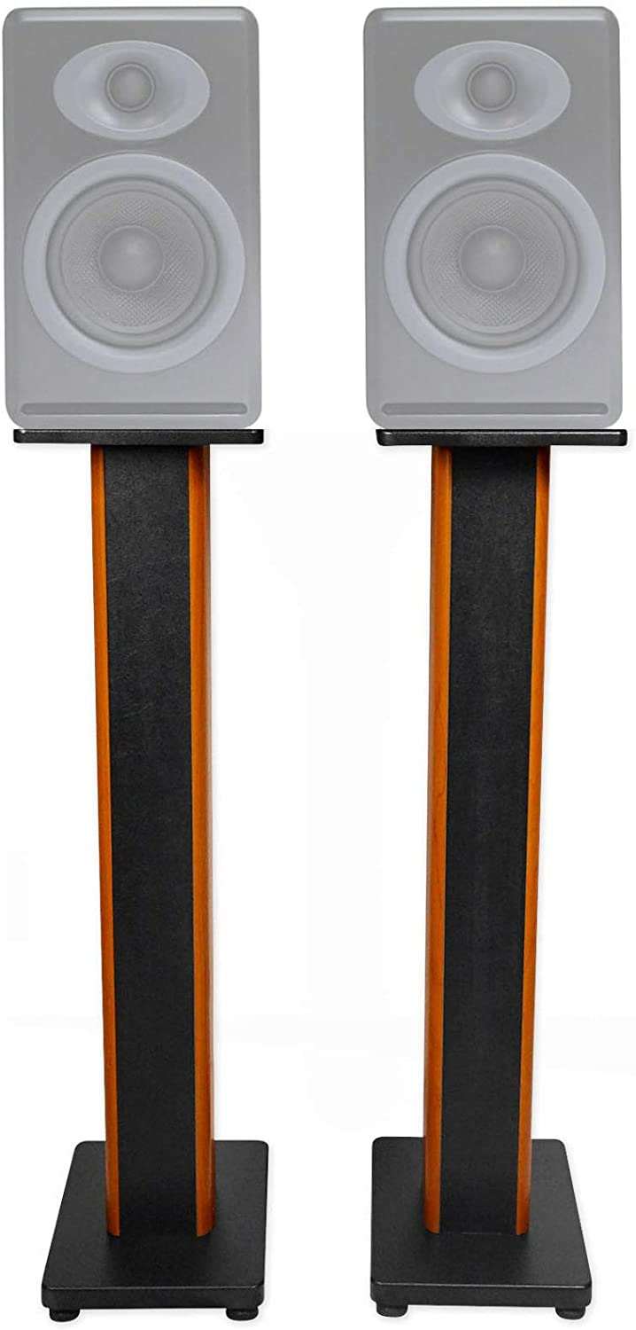 "(2) 36"" Bookshelf Speaker Stands for Audioengine P4 Bookshelf Speakers 61pX4QwJYcLSL1500_"