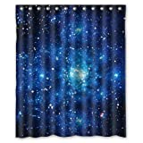 Custom Waterproof Bathroom Shower Curtain The Amazing Wonder Of Galaxy Planet In The Universe Space Polyester 60 x 72 inches High quality Home Decor Shower curtain