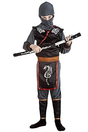 Disfraz de Ninja Infantil (7-9 años): Amazon.es: Juguetes y ...