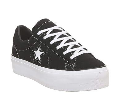CONVERSE Sneaker 'ONE STAR PLATFORM OX' Damen, Weiß, Größe
