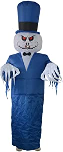 KUANDARM Inflatable Halloween Costumes Spoof Whole Person Party Halloween Ghost Dress Up Bar Haunted House Costume Props Masquerade Inflatable Costumes