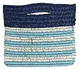 Knitting kit Marine braided clutch of knitting