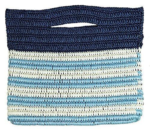 Knitting kit Marine braided clutch of knitting by Hamanaka
