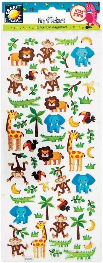 Craft Planet CPT 805209 Stickers Multi
