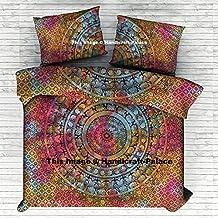 "Elephant Mandala Tie Dye Duvet Doona Cover Cotton Quilt Cover Hippie Comforter Indian Queen Set By ""Handicraftspalace"""