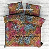 Elephant Mandala Tie Dye Duvet Doona Cover Cotton Quilt Cover Hippie Comforter Indian Queen Set By ''Handicraftspalace''