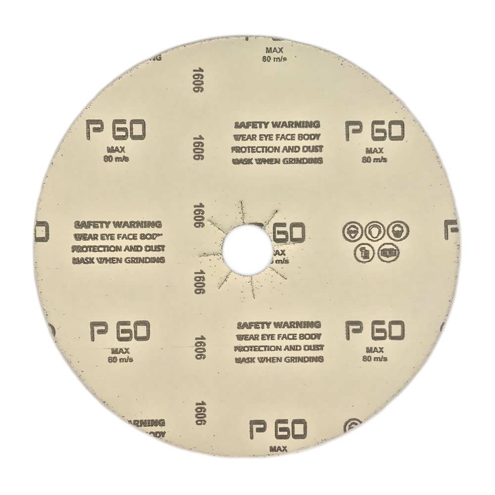 Paper Back Grit 50F 7 x 7//8 Hole Mercer Industries 408050 Floor Sanding Disc 50 Pack Silicon Carbide