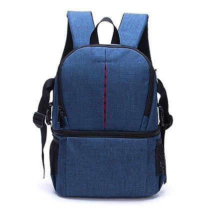 e2025ea827bd Amazon.com: AOLVO DSLR Camera Backpack Camera Bag Case Waterproof ...