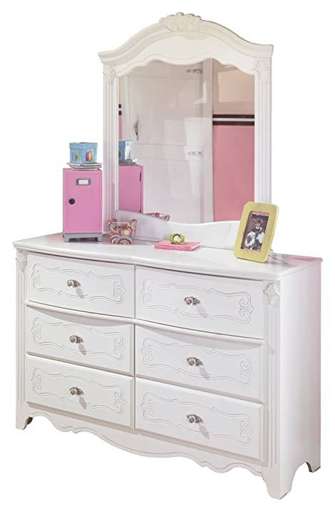 Ashley Furniture Signature Design   Exquisite Youth Dresser U0026 Mirror    Childrenu0027s 6 Drawer Bureau
