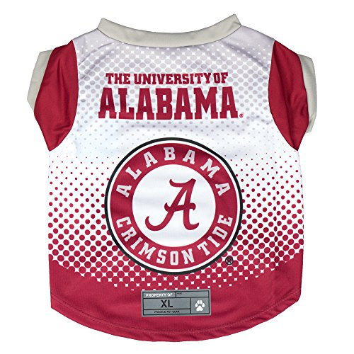 NCAA Alabama Crimson Tide Pet Performace T-Shirt, XS