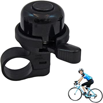 Compass Bike Bell Horns Aluminum Alloy Bell Bicycle Handlebar for Safety Cycling