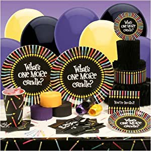 Buy Seasons 29516 One More Candle Deluxe Party Kit - Paper Plastic Latex and Wax