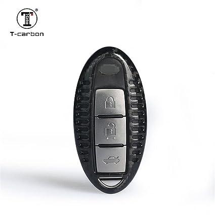 Amazon com: Carbon Fiber Key Fob Cover for Infiniti Key Fob
