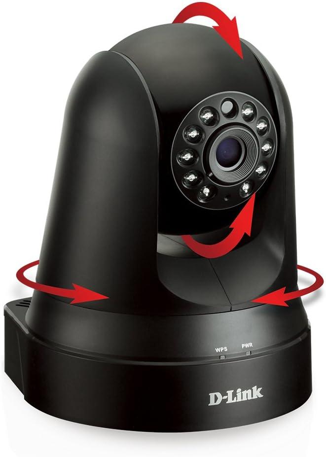 D-Link DCS-5010L Pan & Tilt Wi-Fi Camera (Black)