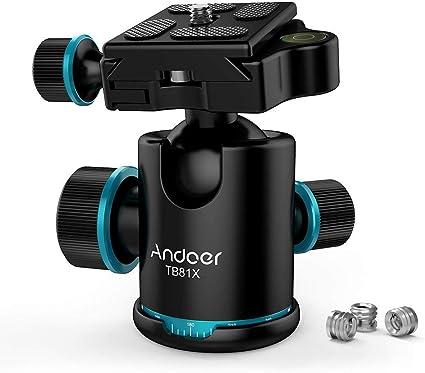 Andoer Camera Tripod Ball Head With Quick Release Camera Photo